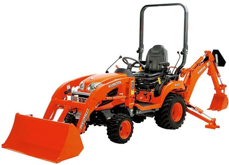 Kubota BX Series Tractors : Kentan Machinery : Kentan Machinery