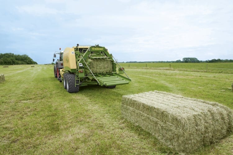 Krone Big Square Baler from Kentan Machinery