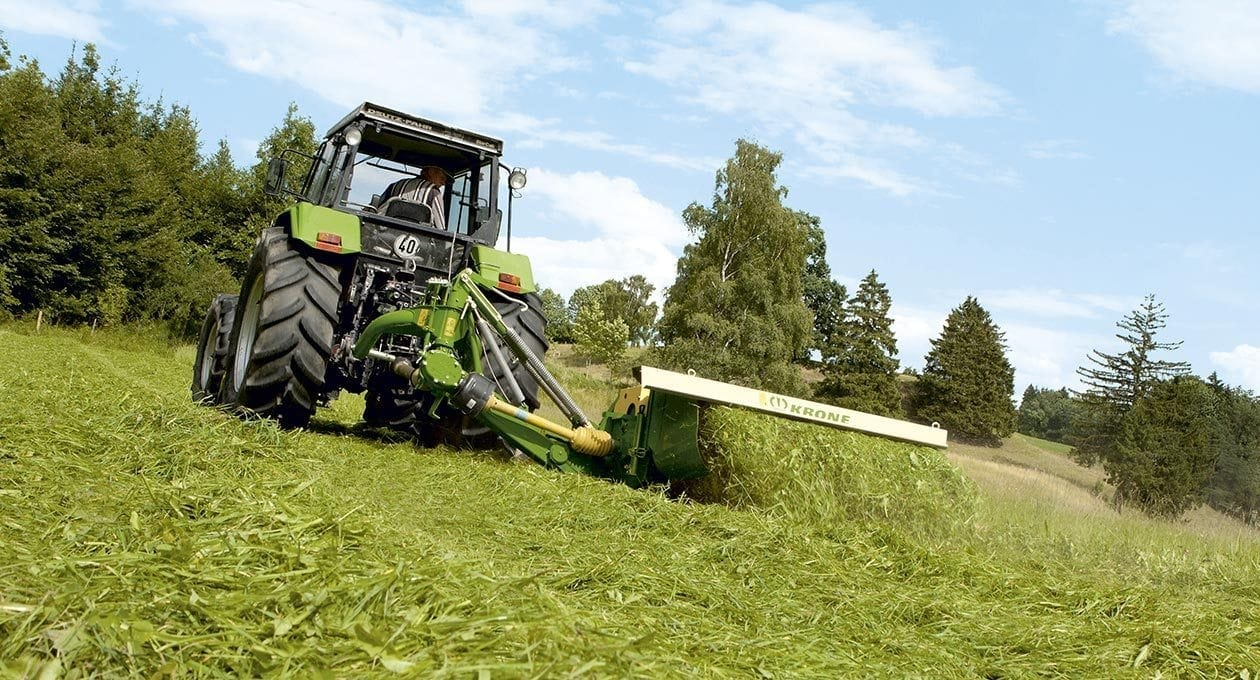 Krone Disc Mower from Kentan Machinery