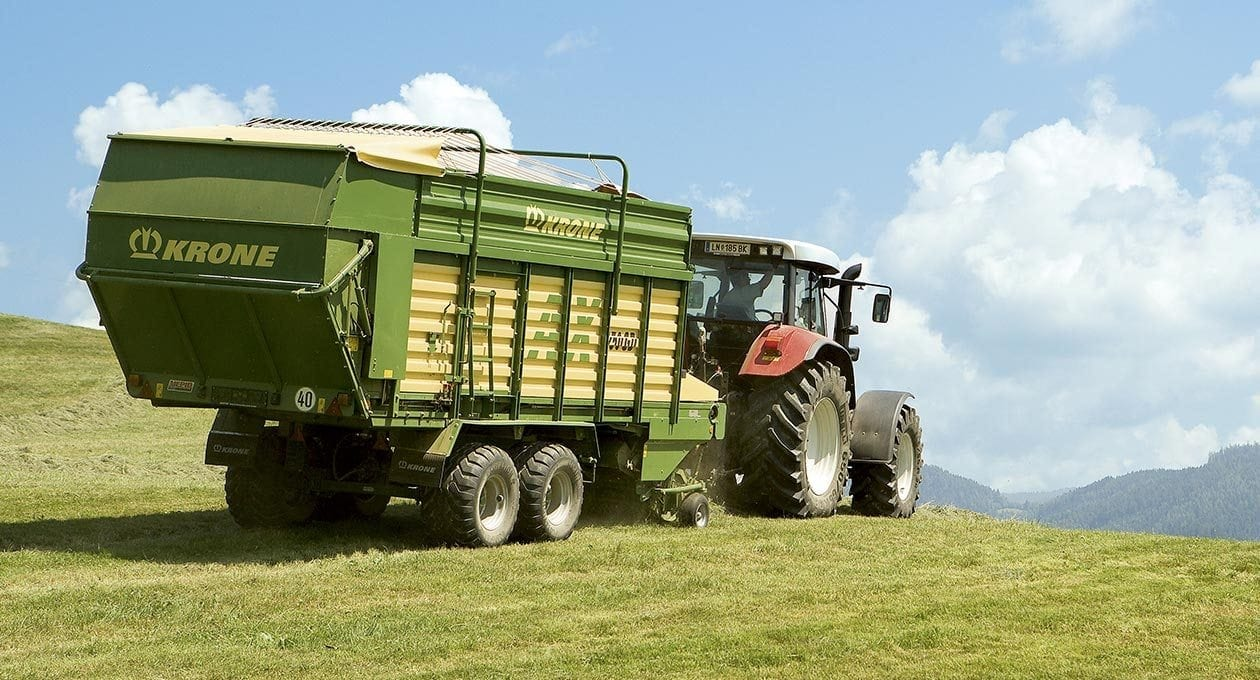 Krone Forage Wagon from Kentan Machinery