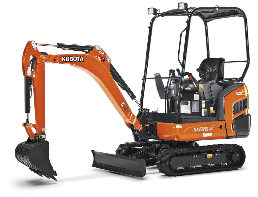 Kubota KX Series 0.8-8.0t Excavator from Kentan Machinery