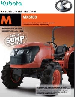 Kubota M Series Farm Tractors : Kentan Machinery : Kentan