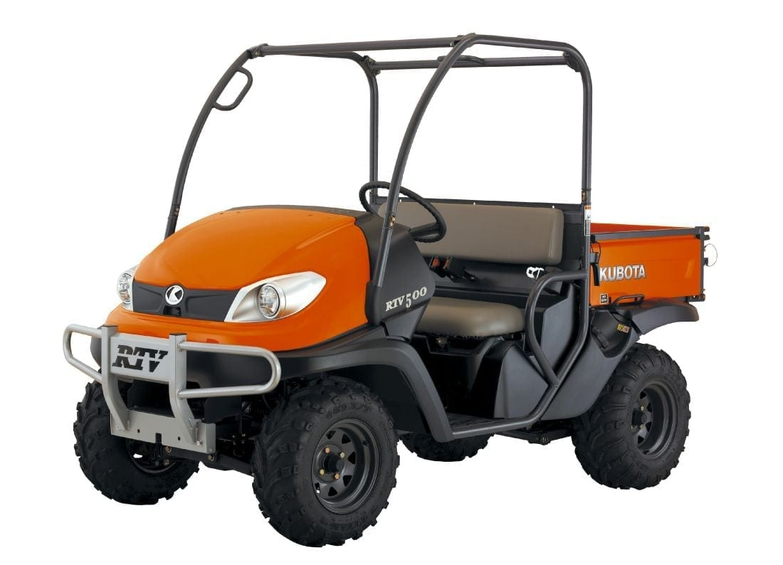 The all-new Kubota RTV500 range offers greater reliability and exceptional  performance whatever the terrain.