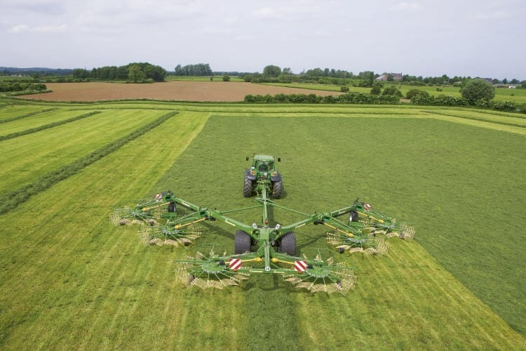 Krone Rotary Rakes from Kentan Machinery