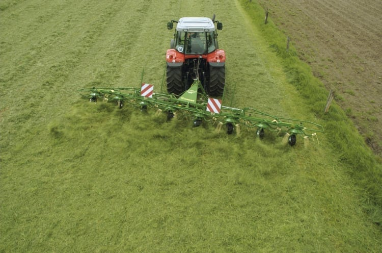 Krone Rotary Tedder from Kentan Machinery